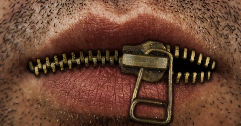губы мужчины
