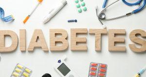 слово диабет ссоставленное из деревянных букв